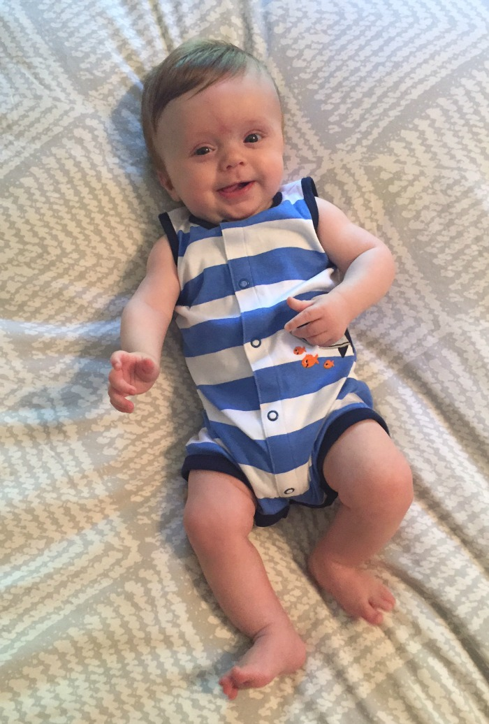 Caleb's 4 Month Update On Bed