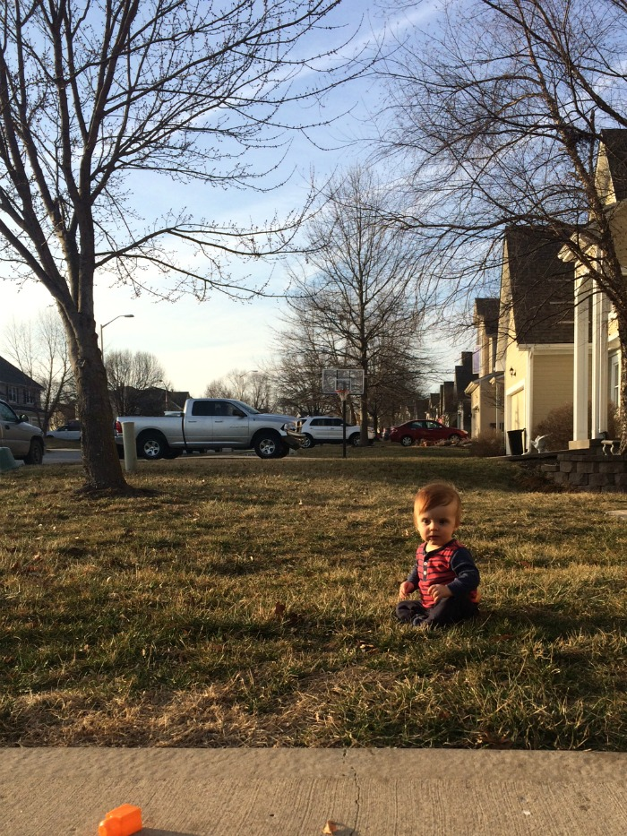 Caleb Twelve Month Update Front Yard