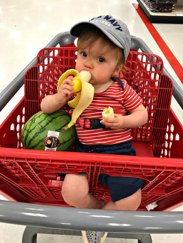 Caleb At Target