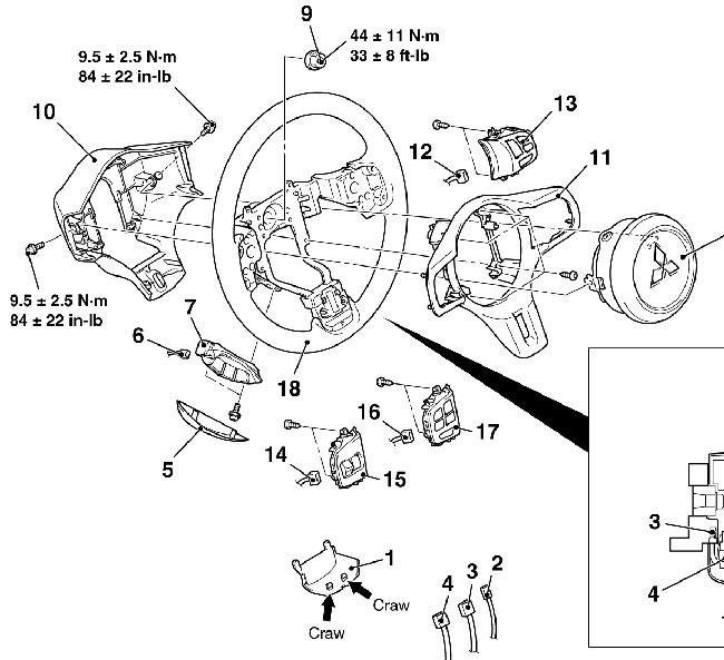 02 Mitsubishi Lancer Horn Wiring Diagram