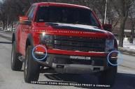 2013 Ford Raptor SVT F-150 Spy Shot 1