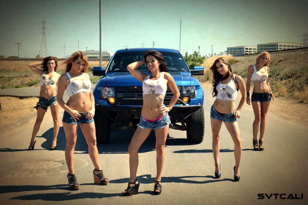 Bronco Cars Wallpaper Hot Girls With Ford Svt Raptor Socal Prerunner Socal