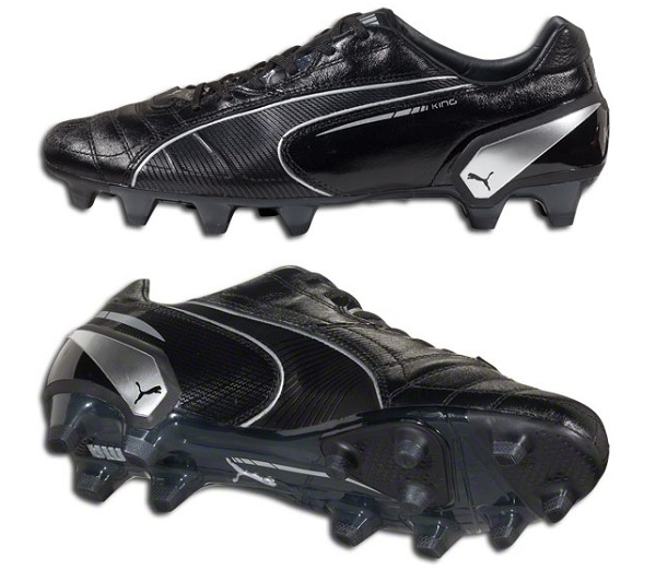 Puma King Black Silver