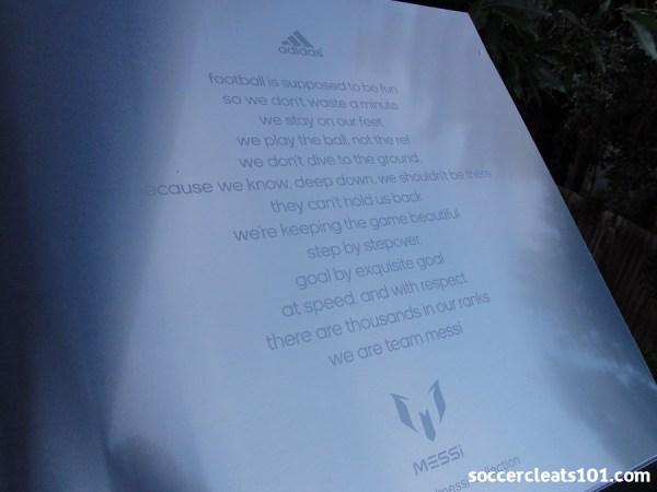 Messi Slogan