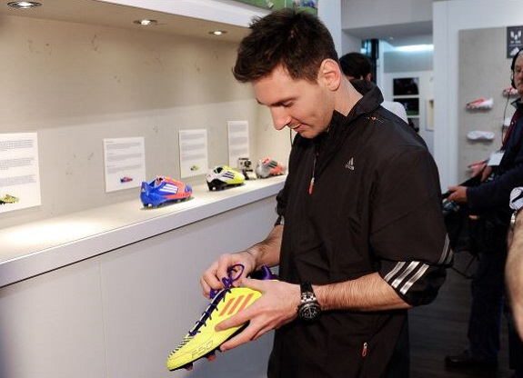 Messi and his F50s