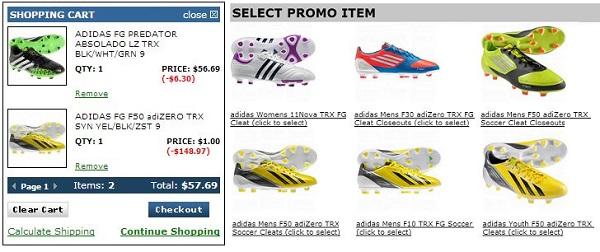 Adidas Offer
