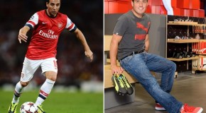 Santi Cazorla Becomes a Puma Player – evoSPEED 1.2