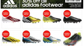 SoccerLoco 30% Off Adidas Footwear – Weekend Sale