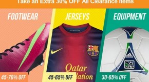 "SoccerLoco – Loco ""Take an Extra 30% Off"" Sale"