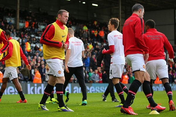 Rooney and RVP