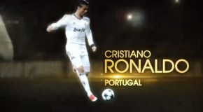 Cristiano Ronaldo Wins the Ballon d'Or