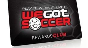 Get into the WeGotSoccer Rewards Program For Free!