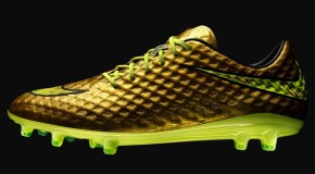 Nike Release Exclusive Gold Hypervenom For Neymar