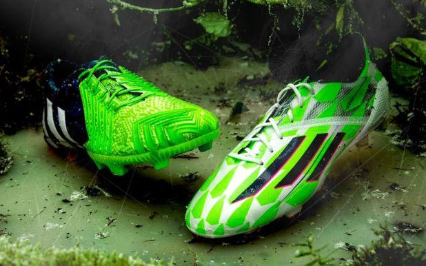 adidas Predator and adiZero Supernatural