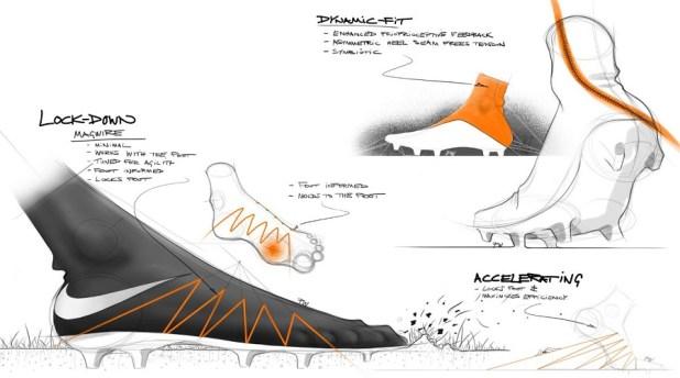 Tech Specs of the Nike Hypervenom II