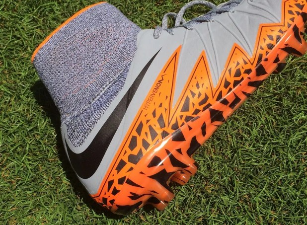 Nike Hypervenom II Heel Design