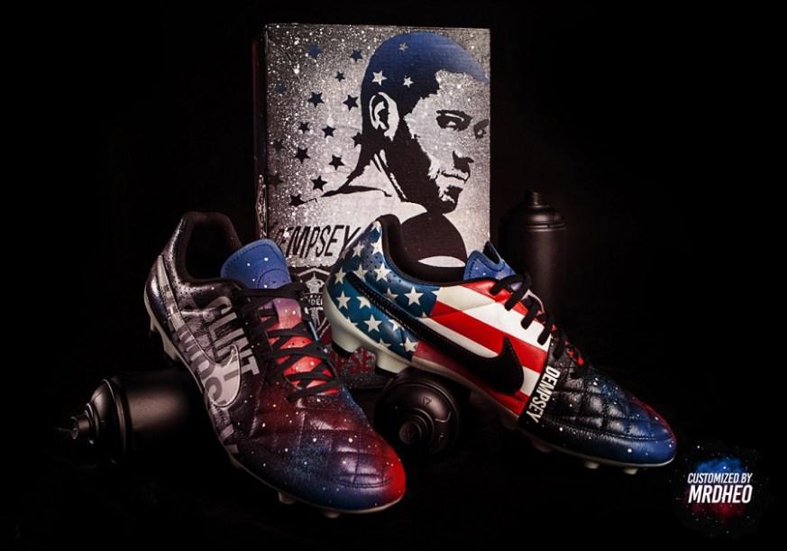 ... Special Edition Custom MrDheo Boots 114 Views. MrDheo Custom Clint  Dempsey Tiempo 5b5bdd654