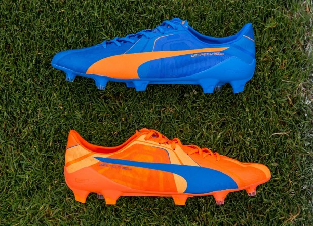 PUMA Launched the new H2H Duality evoSPEED Football Boots in Orange and Blue