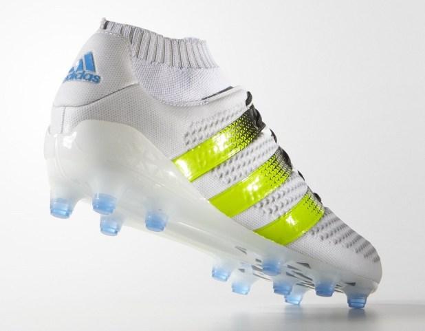 Adidas Ace Primeknit 16.1 White Heel