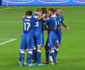 Mondiali 2014: italia inghilterra, scelto kuipers esultanza italia 2