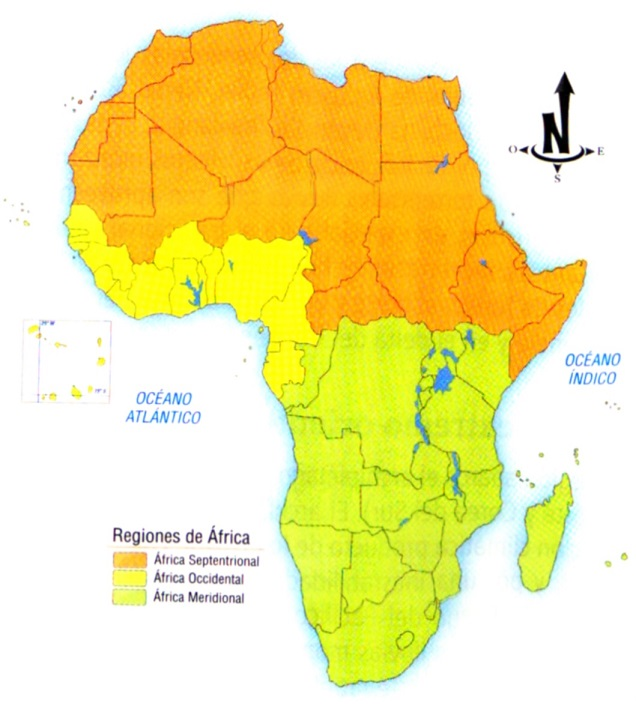 Regiones de África SocialHizo