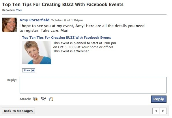 10 Tips for Creating Buzz With Facebook Events  Social Media Examiner - birthday invitation letter sample