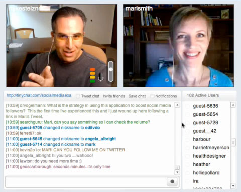 How to Conduct a Live Video Broadcast With Multiple Talking Heads - live video chat room