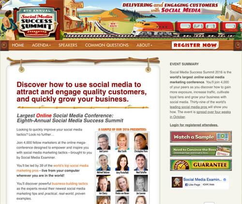 Social Media Success Summit - Learn a lot, Save a lot through August