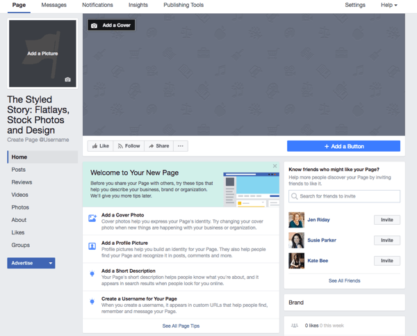 How To Build A Facebook Page For Business A Guide For