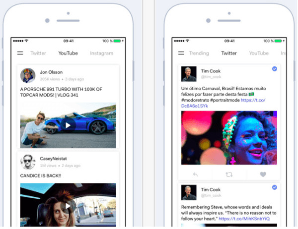 Streamline your feeds with the Bynd app.