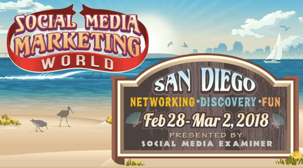 Exciting things are planned for Social Media Marketing World 2018.