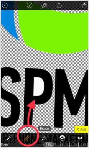 magic eraser app transparent background erase tool