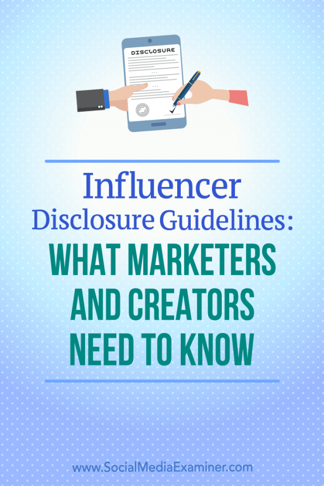Discover how best to comply with disclosure guidelines and properly protect your business when participating in influencer campaigns.