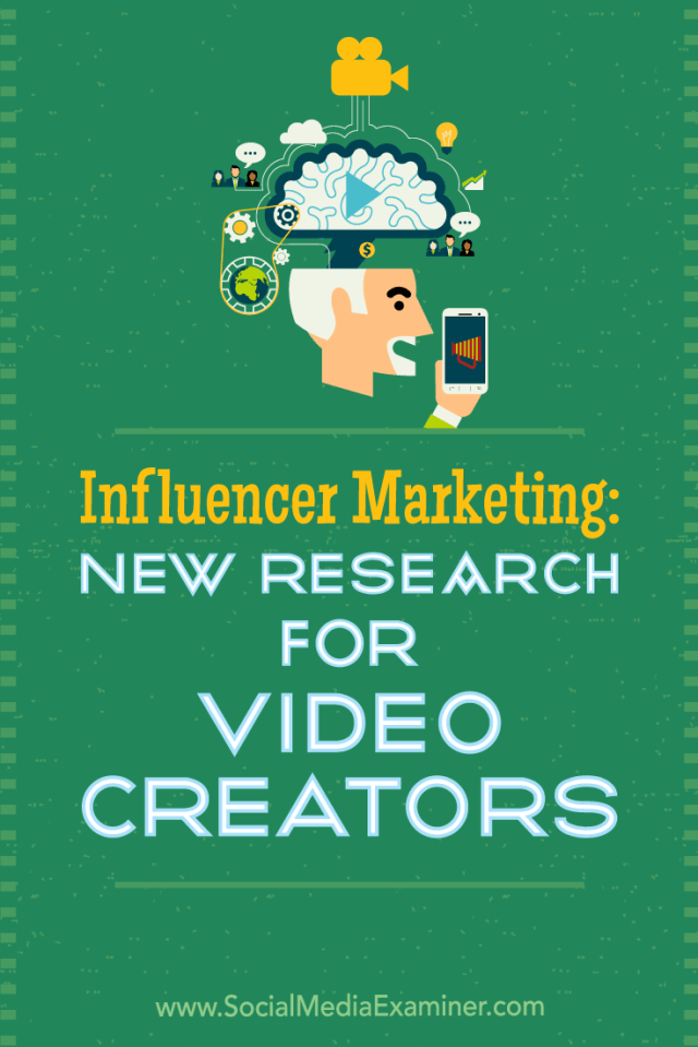 Discover new research that reveals how influencer marketing has grown and how video creators plan to pursue relationships with brands.