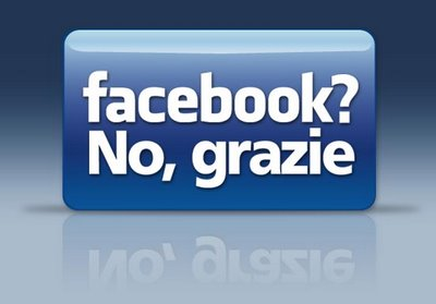Facebook, No Grazie