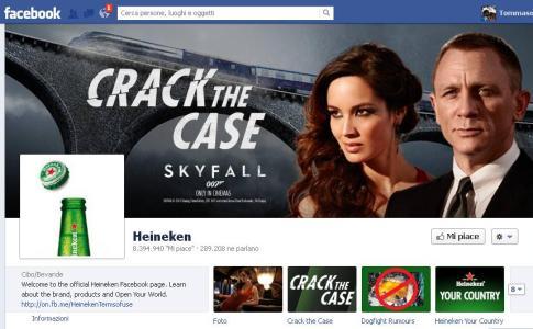 Heineken - Facebook Fan Page