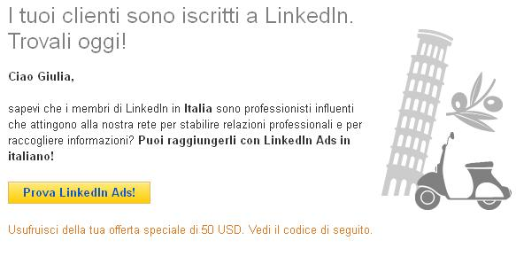 LinkedIn Ads in Italiano