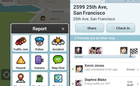 Facebook connected Waze
