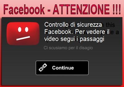 Malware su Facebook