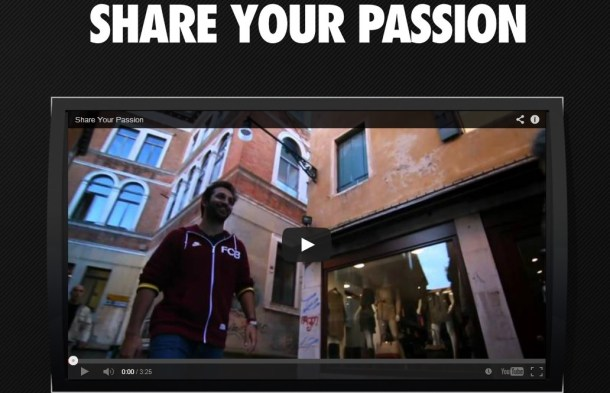 Share your Passion - Piattaforma social advertising