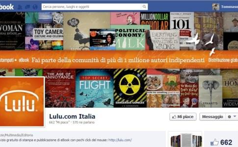 Lulu.com Facebook Fan Page