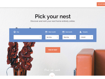 Home website nestpick