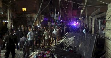 two suicide bomb blasts claimed by Islamic State in a crowded residential district in Beirut's southern suburbs