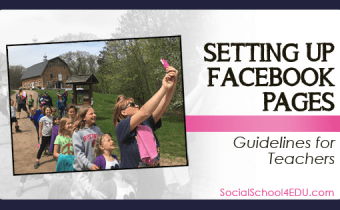 Setting up Facebook Pages: Guidelines for Teachers Blog