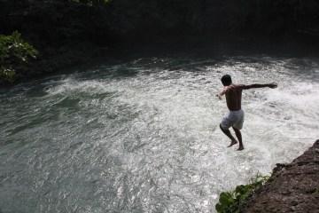 Waterfall Jump Social Student