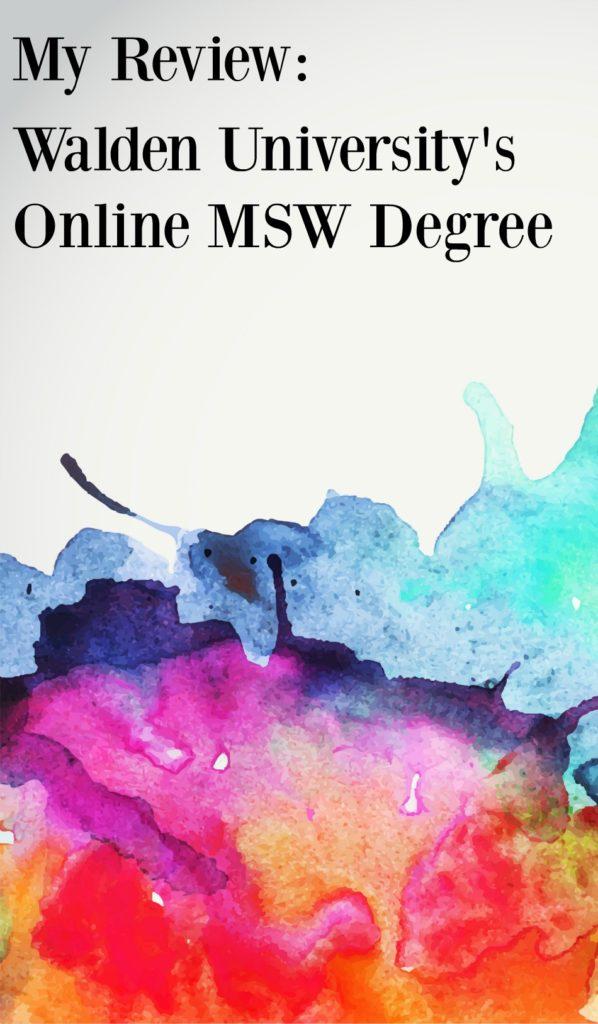 Online Masters Social Work Degree at Walden University Social Work