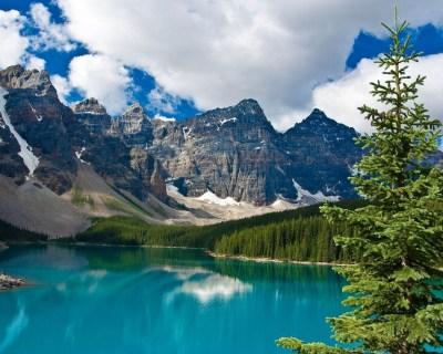 lake near mountain HD by claudiu d. - Desktop Wallpaper