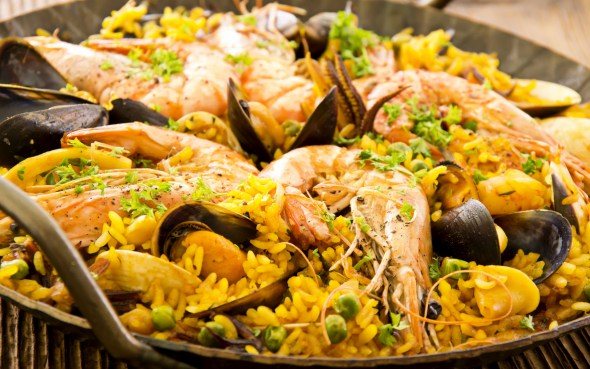 If you haven't had paella, go have some, right now. It's so good.