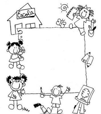 Desenhos para Colorir - Volta às aulas \u2014 SÓ ESCOLA