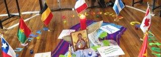 La prière est au centre de la vie des soeurs de l'enfant Jésus